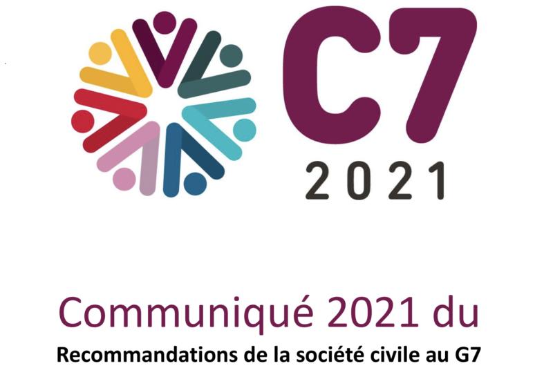Communiqué – Recommandations de la société civile au G7
