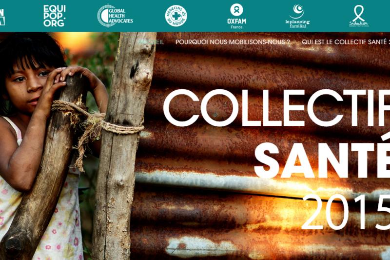Lancement du Collectif Santé 2015